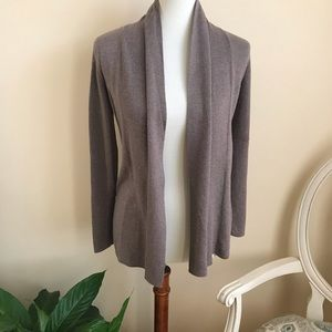 Apt. 9 Brown Open Front Cardigan Sweater